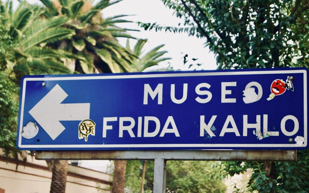Cartel Museo Casa Frida Kahlo