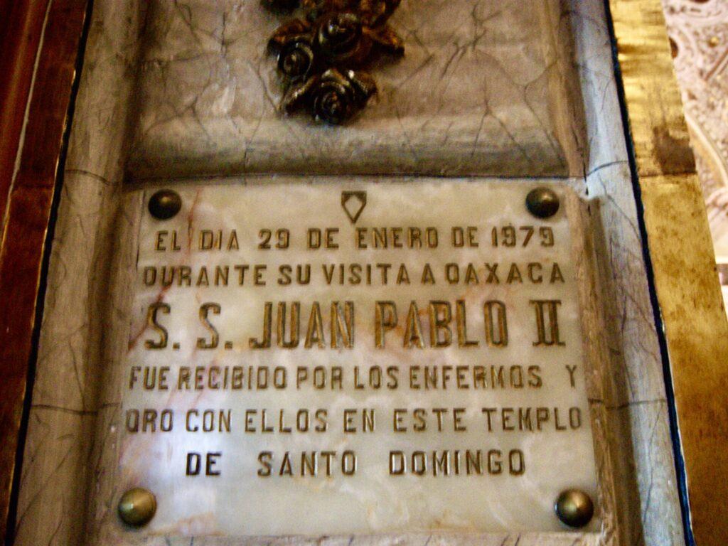 El Papa en Oaxaca
