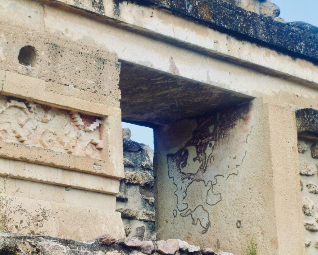 Detalle de las grecas - Mitla