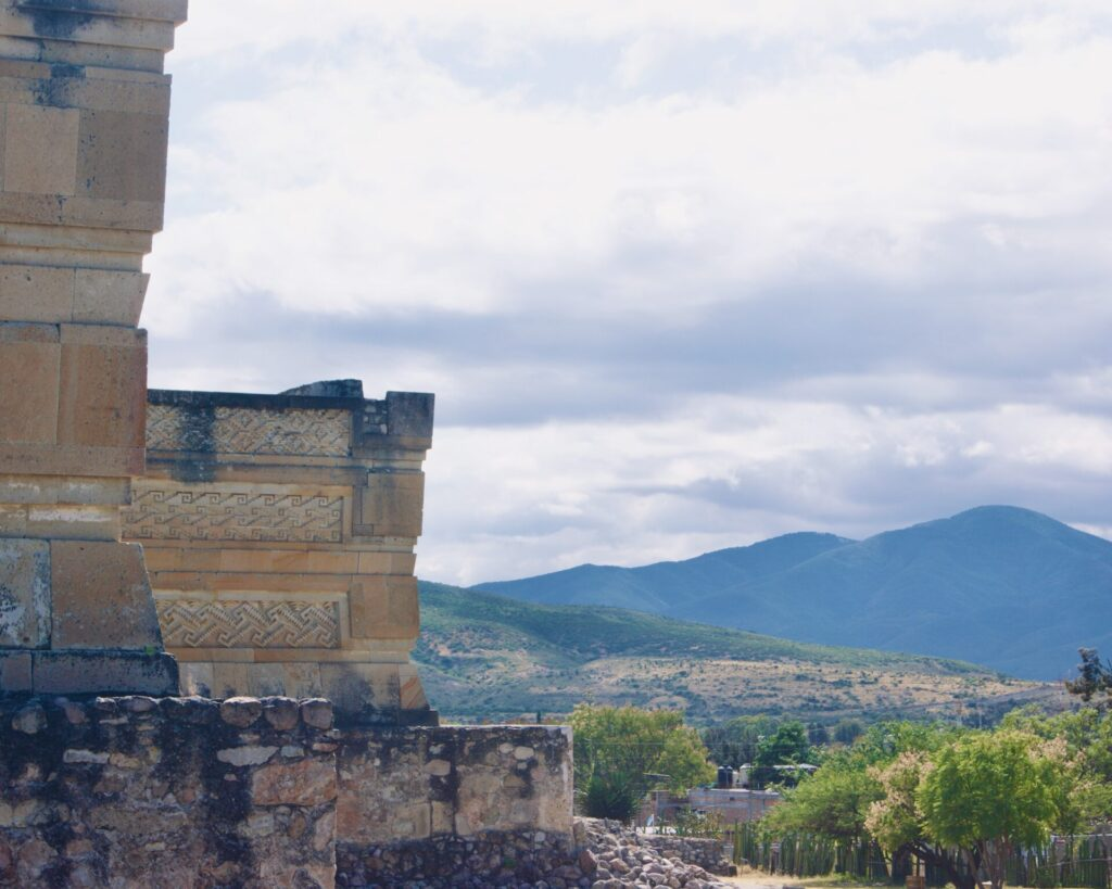 Fachada Salón de las Columnas - Mitla
