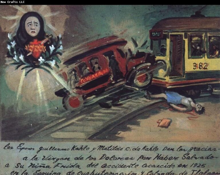 Accidente Frida Kahlo