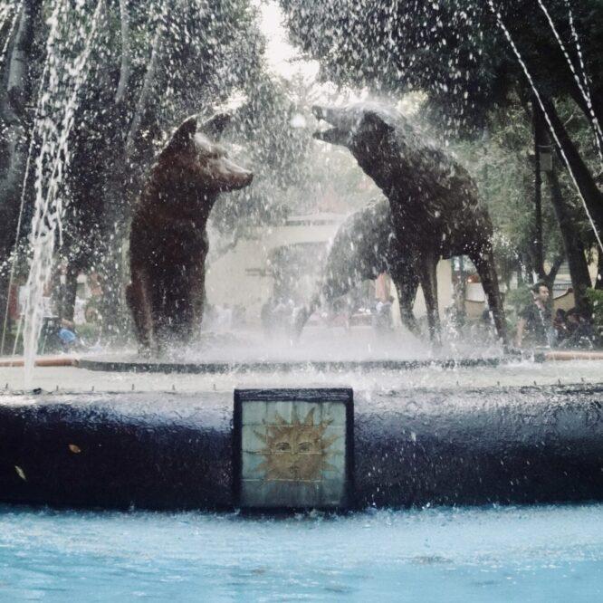 Coyoacan es el primer ayuntamiento que regiría la capital de la Nueva España tras la conquista de Tenochtitlán por Hernan Cortés. Coyoacán estaba consagrada a una de las más importantes deidades del panteón mexica, Tezcatlipoca (el espejo humeante), quien podía transformarse por las noches en ese cánido para interactuar con los humanos.