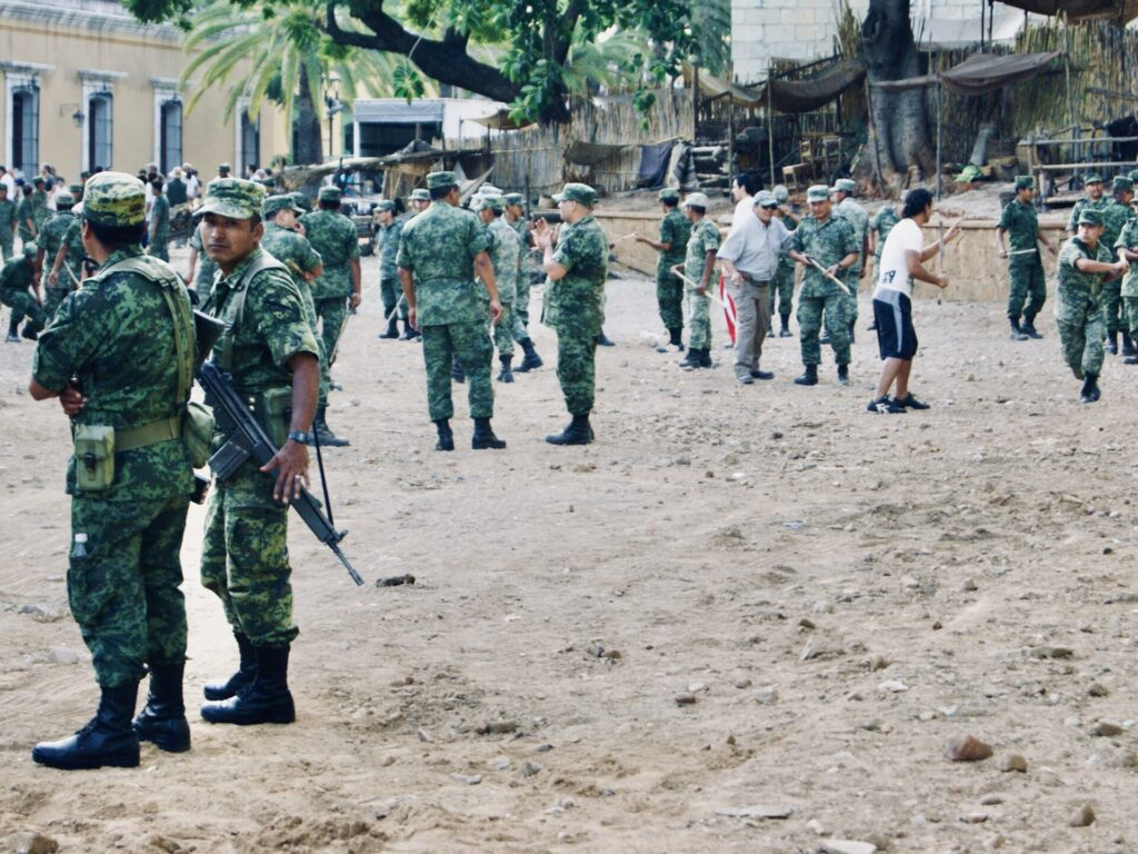 oaxaca militarizada