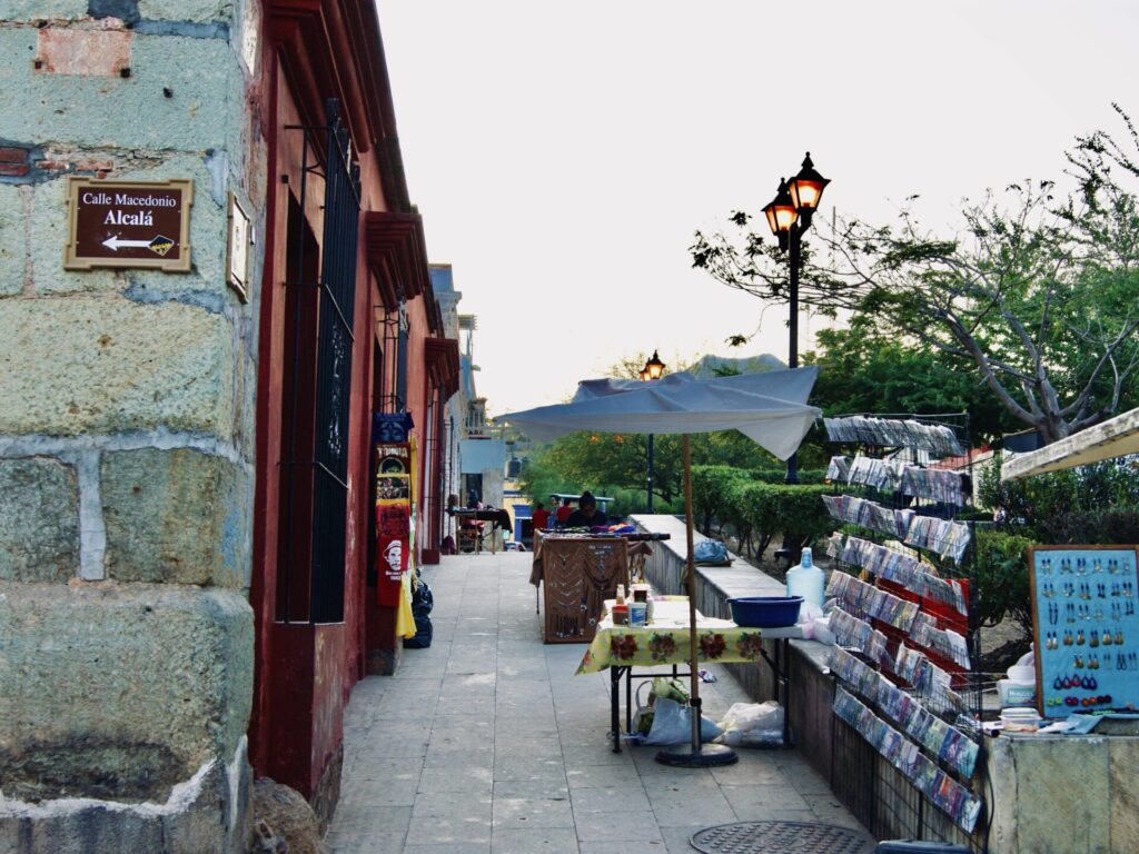 oaxaca calle macedonio alcala
