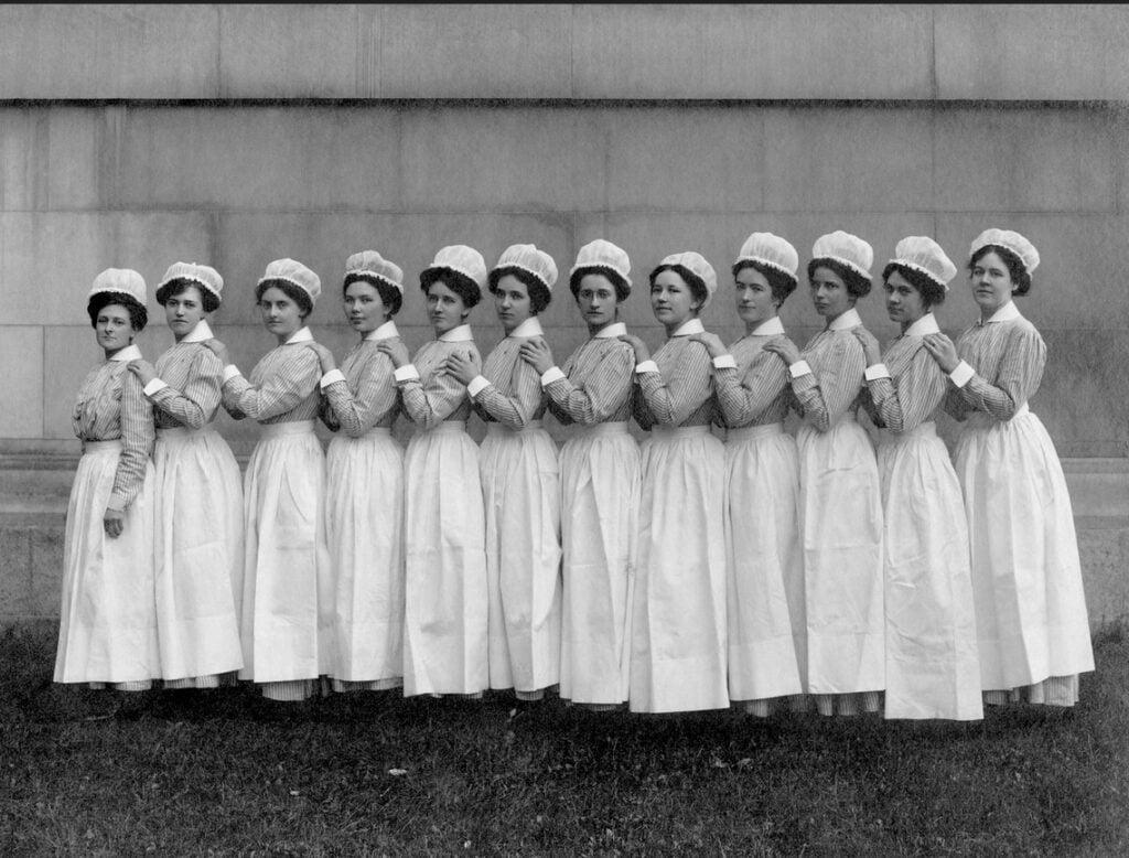Enfermeras Bellevue 1880