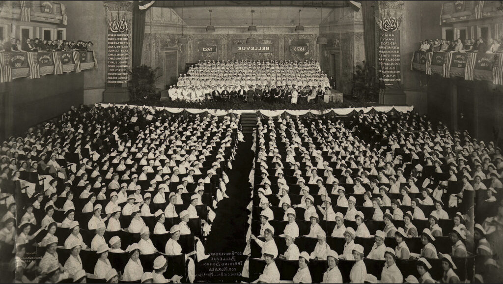 escuela de formacion para enfermeras bellevue 1923